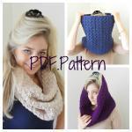 Cowl Crochet Pattern - PDF